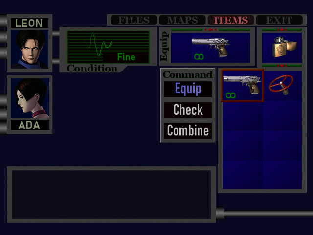 RE2SHDP inventory and portraits