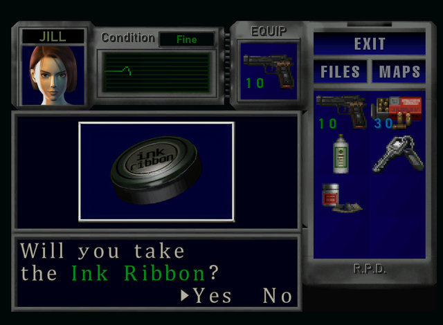 RE3SHDP inventory and portraits